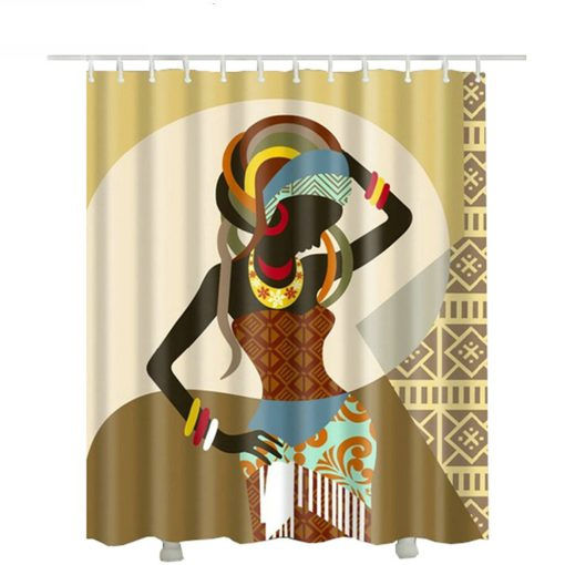 African American fabric shower curtain 2018 African American Shower Curtains