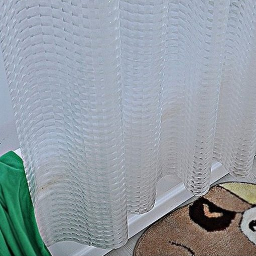 [4 Variations] 3D Transparent White Clear Luxury Plastic Waterproof Shower Curtain 3D Shower Curtains {Discount Offers}