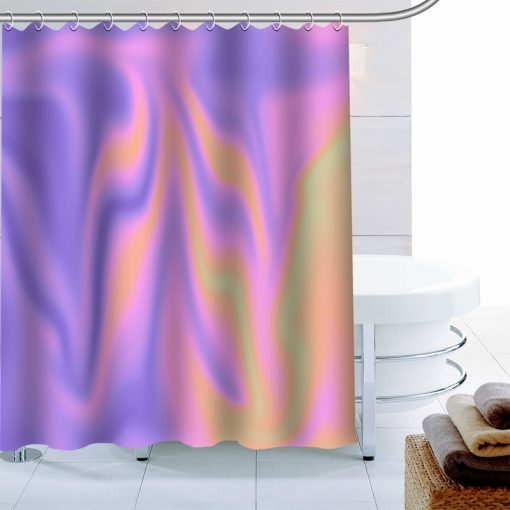 {20+ Diff} Luxury Holographic Iridescent Waterproof Mildew Proof Shower Curtains Shower Curtains