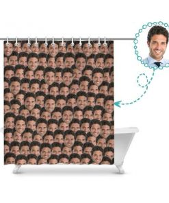 Custom Shower Curtain Your Personalized Print on Shower Curtain Shower Curtains
