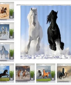 Horse Shower Curtains