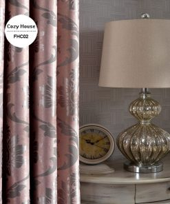 Fabric Elegant Luxury European Blackout Curtains For Living/Bed Room {Pink, Silver, Yellow, Tan} Blackout Curtains