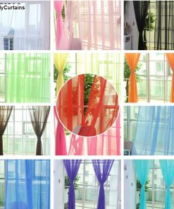 Sheer Tulle Curtains