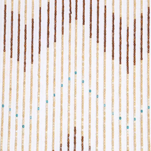 Bamboo Beaded Curtain, Wooden Bead Curtain Fly Screen 4 Wave Handmade Wooden Blinds For Hallway Living Room Door Window Gate Divider Beaded Curtains