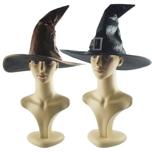 Unique Black Witch/Wizard Hat for Women Cosplay Halloween Party [category]