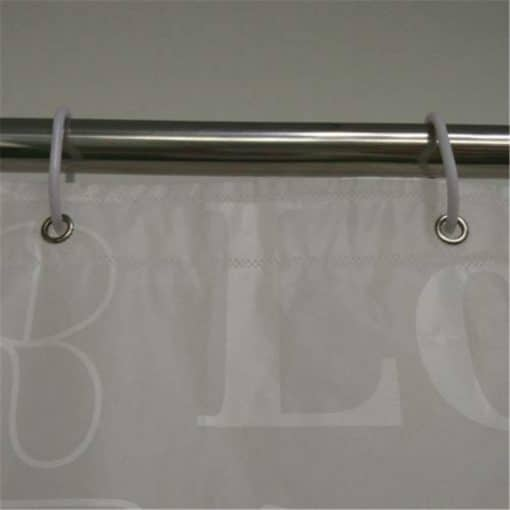 Love Bath Shower Curtain Liner Clear Non Toxic Mold Resistant Waterproof Shower Curtain Liner