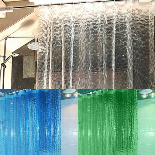 Colorful Waterproof 3D Shower Curtain Liner Shower Curtain Liner