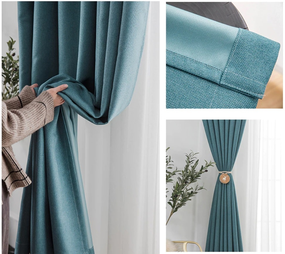 Insulated curtain that keeps heat out and rooms cool